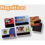 Magneticos O Imanes Publicitarios 6x4 Cm. 100 Un.