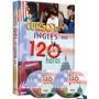 Curso De Ingles En 120 Horas + 3 Cd + 3 Dvd
