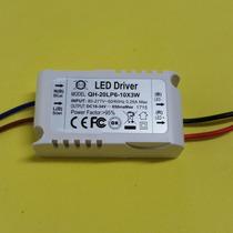 10 X Driver O Fuente Para Led Alta Luminosidad 6-10 X 3w
