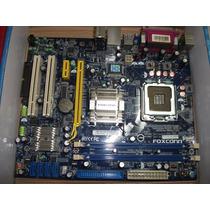 Tarjeta Madre Foxconn N15235+ 2gb Ram 667mhz Pro Intel E2200