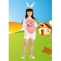 Disfraz De Conejo Talle 1 Al 3