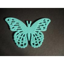 Mariposas Caladas En Goma Eva