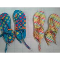 Sandalias Ojotas Artesanales Estampadas Talles