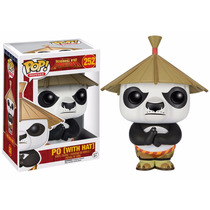 Po With Hat - Kung Fu Panda Funko Pop Movies Fu-6402