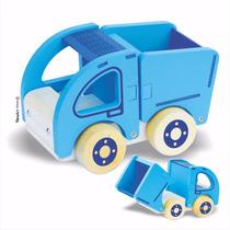 Caminhão Caçamba - Brinquedo De Madeira
