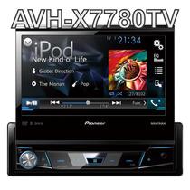 Dvd Pioneer Retrátil Avh-x7580bt 7580 Mixtrax Bluetooth Usb