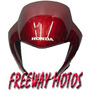 Mascara Honda Falcon Nx400 Bordo Original En Freeway Motos !