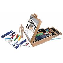 Set De Dibujo Artistico 124 Accesorios Bocetos Entrega 2a4 D