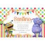 Kit Imprimible Henry Monstruito Candy Bar Invitaciones Deco