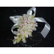 Adorno De Flores Para Torta En Porcelana Fria