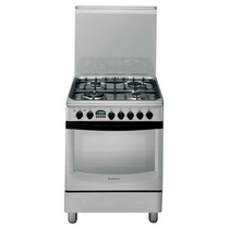 Cocina Ariston Cx 660 Sp6 X Acero Inox 60cm Horno Electrico