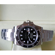 Relógio Eta 3135 Submariner Dial Preto Noob Best Edition V6s