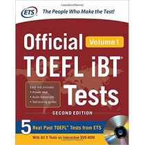 Official Toefl Ibt Tests Volume 1, 2nd Edition Envio Gratis