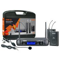 Microfone Headset Auricular C/ Transmissor Instrumentos Uhf