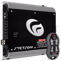 Modulo Stetsom 2k5 Eq 3200w 1 Ohm Equalizador + Controle Sx1