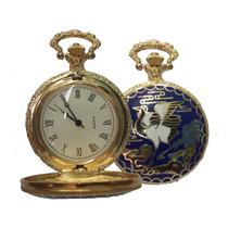 Relógio De Bolso Estilo Madame Butterfly Fascículo Nº 02