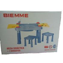 Mesa Didactica Con Dos Banquitos Biemme Sweet Babies