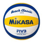 Bola Mikasa Beach Classic Vx30 Voley Praia Oficial Fivb