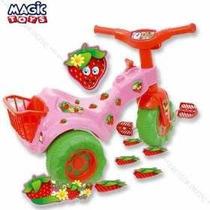 Motoca Infantil Totoca Tico Tico Moranguita - Magic Toys