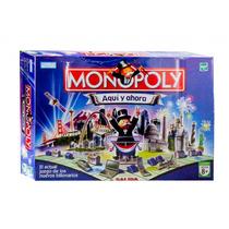 Monopoly Aqui Y Ahora Juego Finanzas Mas Famoso Hasbro