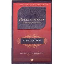 Bíblia Sagrada Ultrafina (slim) Almeida Contemporânea Preta