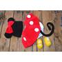 Conjunto Newborn Mickey Ou Minie De Croche Fotografia