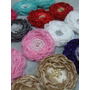 Flores De Tela, Merceria,cintas,lazos,cintillos,vintage,niña