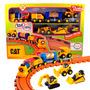 Mini Tren Con Luces Y Sonidos Cat Linea Preschool - 80408