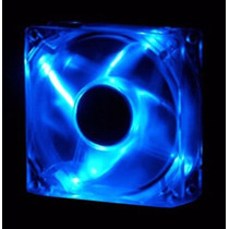 Cooler Fan Led Azul 120x120x25 12cm 120mm Blue
