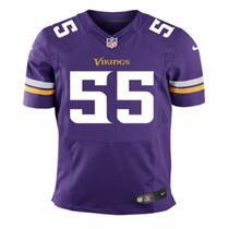 Camiseta Nfl Minnesota Vikings 55 Barr