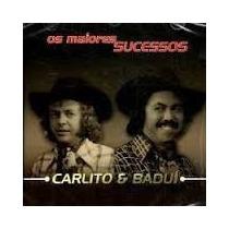 Cd Carlito & Baduí Os Maiores Sucessos