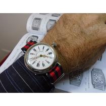 Relógio Roskopf Patent Pulso Antigo Militar Cebolinha 41 Mm