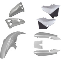 Carenagem Kit Completo Ybr 125 Prata 2000/2001/2002