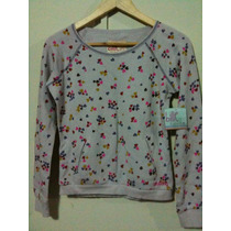 Polera Sueter Billabong Billie Girls Niña Kids Corazones M