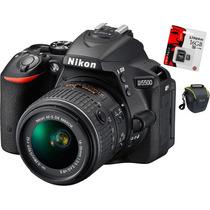 Nikon D5500 18-55,bolso+memo16gb Clas10.cuotas Sin Interés!