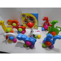10 Brinquedos Didaticos Zoologico Animais De Circo Relogio