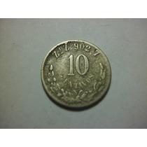 Republica Mexicana 10 Centavos Fecha 1900 Ceca Zacatecas