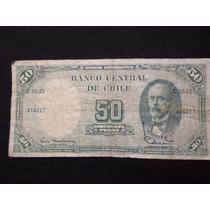 Chile - Billete De 100 Pesos O 10 Centésimos De Escudo