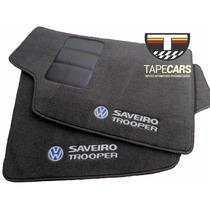 Tapete Automotivo Vw Saveiro Trooper Em Carpet Linha Luxo
