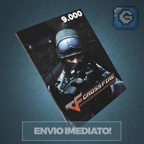 Crossfire Jogo Pc - Cartão De 9.000 Zp Cash - Imbatível!