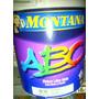 Pintura Montana Abc Emulsionada Caucho Mate Semilavable
