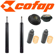 Kit 02 Amortecedores Dianteiros Gol G2 + Kist + Coxins Axios