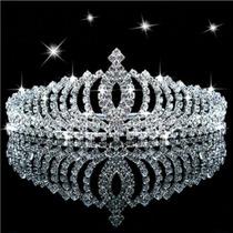 Tiara Coroa Arranjo Para Noiva Noivado Debutante 15anos