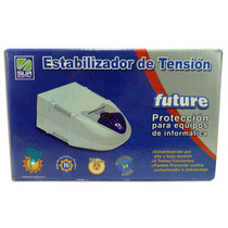 Estabilizador De Tension Future 1000w 6 Tomas Corrientes