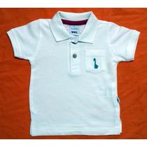 Camisa Polo Bebê Puc - Medidas Logo Abaixo -