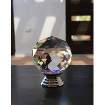 Perilla /jaladera De Cristal / Corte Redondo 30x40mm 5 Pzs