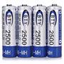 Pila Bateria Recargable Aa Bty 2500 Mah Ni Mh 1.2v Local Ccs