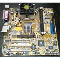 Placa Mae Asus A7v400-mx Socket A + Duron 1200