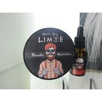 Kit Pomada Modeladora + Óleo Para Barba Cabelo Bigode