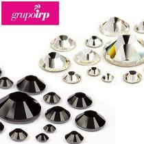 50 Cristales Swarovski #20 Para Uñas, Bisuteria, Ropa Y Más